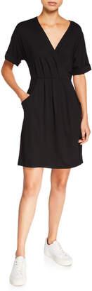 Kensie Draped Knit Dress