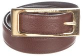 Bottega Veneta Leather Buckle Belt