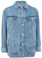 Tall oversized denim jacket