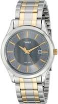 Timex Men's T2N799 Elevated Classics Dress Two-Tone Dress Watch