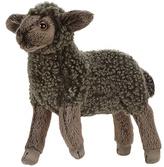 Black Little Lamb Plush Toy