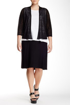 Eileen Fisher Flare Skirt (Plus Size)