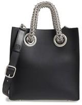 Alexander Wang Genesis Box Chain Square Leather Shopper - Black