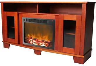 """Red Barrel Studio Duckworth TV Stand for TVs up to 60"""" with Fireplace Included Red Barrel Studio"""