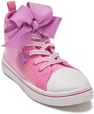 Josmo Jojo Siwa Sequin High Top Sneaker (Toddler, Little Kid, & Big Kid)