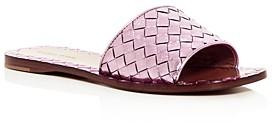 Bottega Veneta Women's Woven Slide Sandals