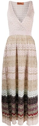Missoni Metallic-Threading Midi Dress