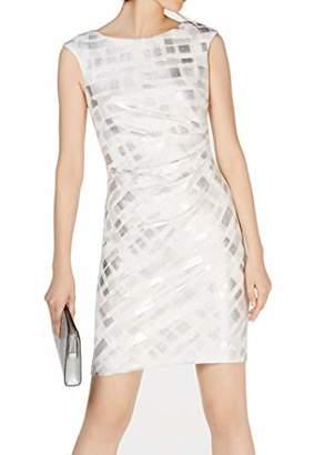 Jessica Howard Women's Petite Extended Cap Sleeve Sheath Dress