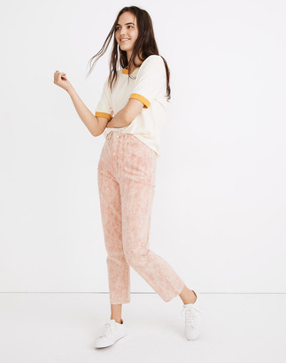 Madewell x Botanical Colors Dyed Classic Straight Jeans