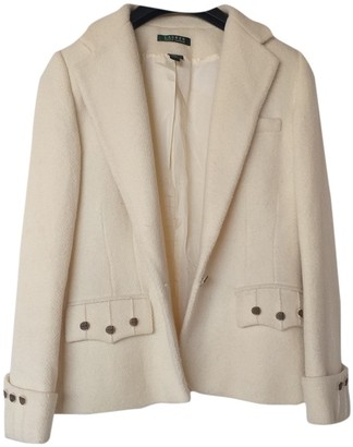 Lauren Ralph Lauren Beige Wool Jacket for Women