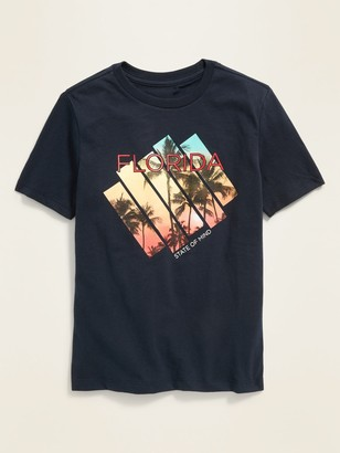 Old Navy Florida Graphic Soft-Washed Tee for Boys