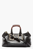 Chloé Black and brown leather Ethel bag