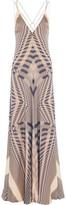 Amanda Wakeley Printed Silk Gown