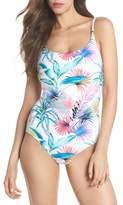 Tommy Bahama Fronds Ferdinan Reversible One-Piece Swimsuit