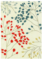 Sanderson Home Pippin Charcoal Coral Rug 280x200cm