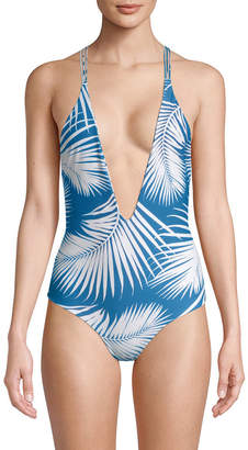 Mikoh Deep V-Cut Front One-Piece