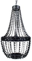 Sleeping Partners Beaded Chandelier in Black