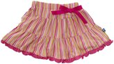 Kickee Pants Print Tiered Skirt (Baby) - Island Girl Stripe-0-3 Months