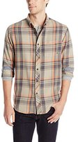 Billabong Men's Roberston Long Sleeve Woven Flannel
