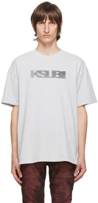 Ksubi Grey Sign Of The Times T-Shirt