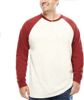THE FOUNDRY SUPPLY CO. The Foundry Big & Tall Supply Co. Long-Sleeve Colorblock Raglan Tee