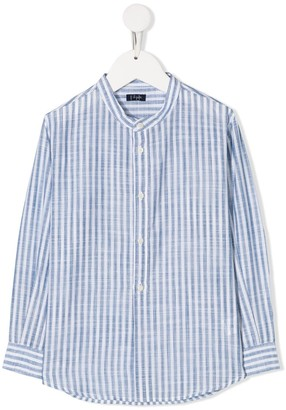 Il Gufo Striped-Print Buttoned Shirt