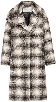 Designers Remix Jayden Recycled Wool Blend Midi Coat