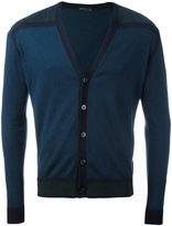 Etro buttoned V-neck cardigan - men - Cotton - M