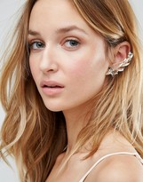 Johnny Loves Rosie Aria Blush Ear Cuff & Stud