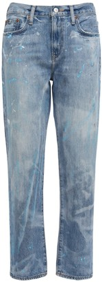 Polo Ralph Lauren Dyed Boyfriend Cotton Straight Jeans