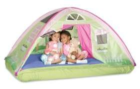 Pacific Play Tents Cottage Bed Tent for Twin Bed