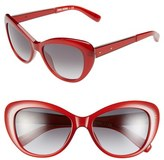 Bobbi Brown Women's 54Mm Cat Eye Sunglasses - Burgundy