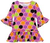 Flap Happy Lizzy Print Dress (Baby Girls, Toddler Girls, Little Girls, & Big Girls)