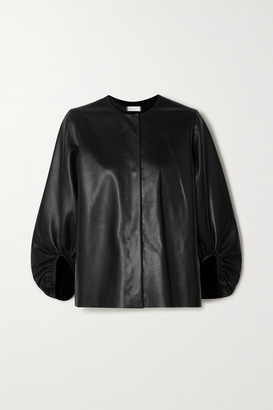 Utzon Leather Jacket - Black