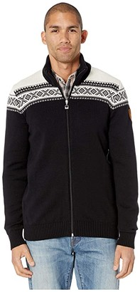 Dale of Norway Cortina Merino Masculine Jacket (F-Black/White) Men's Coat