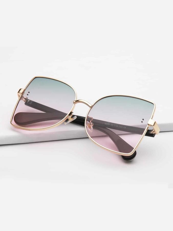 47e60886b6 Metal Frame Sunglasses - ShopStyle