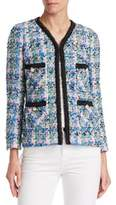 Edward Achour Multicolor Weave Jacket