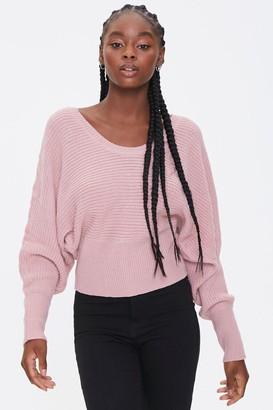 Forever 21 Ladder Cutout Sweater