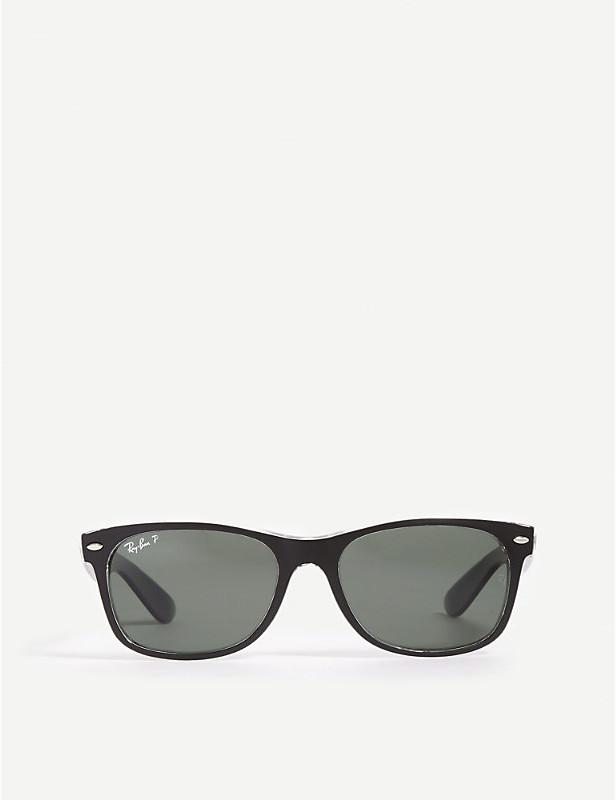 10fc8e7a82a82 Clear Frame Wayfarer Sunglasses - ShopStyle UK