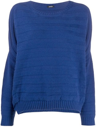 Aspesi textured knit jumper