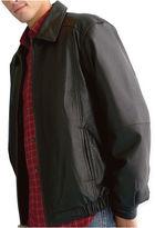 ST. JOHN'S BAY St. John's Bay Leather Bomber Jacket