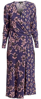 Rag & Bone Odette Floral-Print Dress
