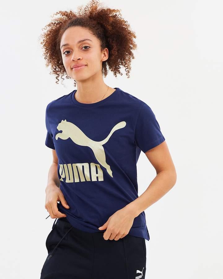 Puma Classics Logo Tee - Women's