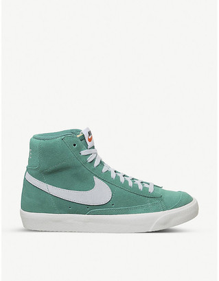 Nike Blazer mid-top suede trainers