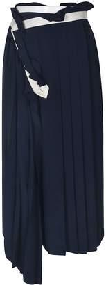 Golden Goose Pleated Asymmetric Skirt