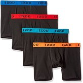 Izod Men's 4pk Cotton Stretch Boxer Brief
