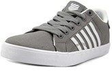 K-Swiss Belmont Youth Round Toe Canvas Gray Sneakers.