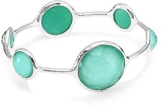 Ippolita Rock Candy Sterling Silver & Doublet Bangle Bracelet