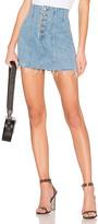 GRLFRND Twiggy High-Rise Mini Skirt