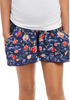 Motherhood Secret Fit Belly Cuffed Maternity Shorts